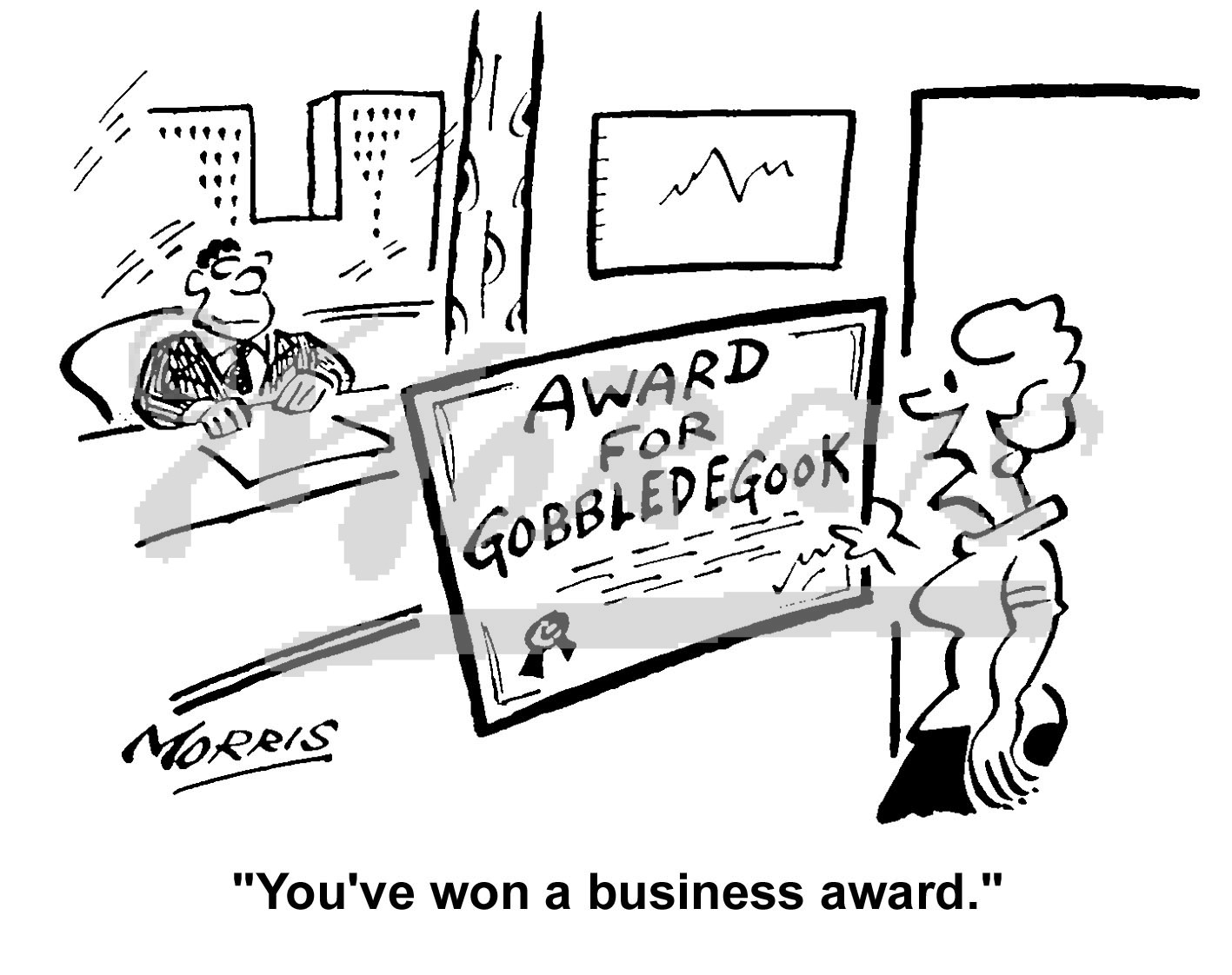 management jargon business cartoons