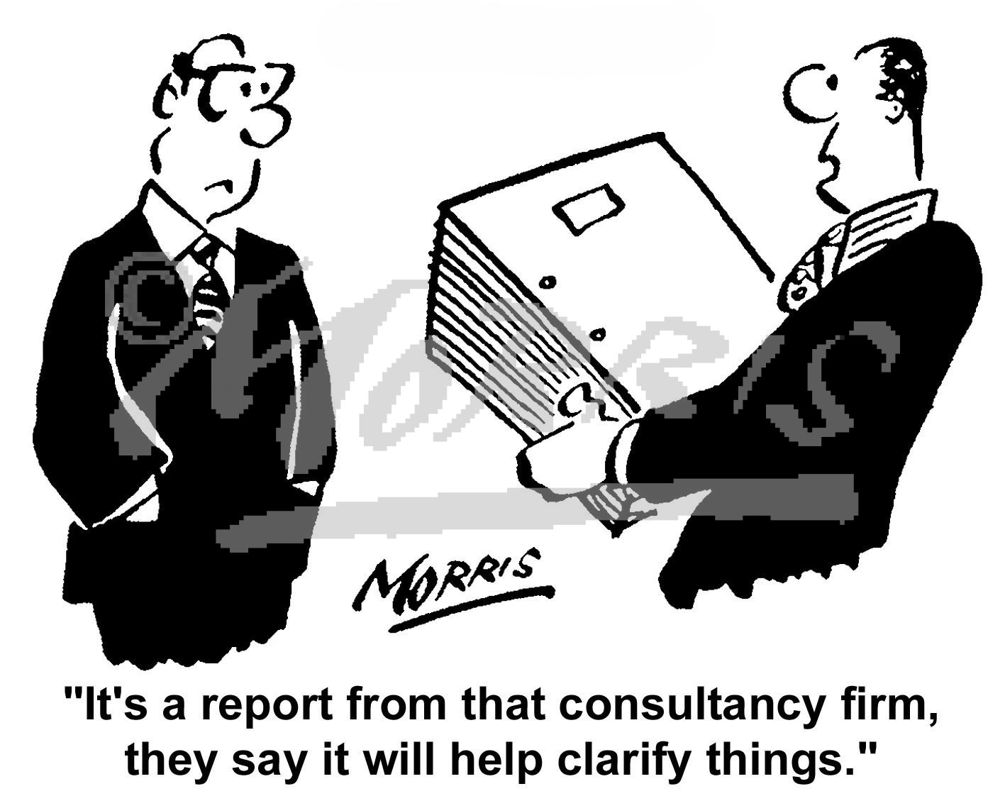 consultancy report business cartoons