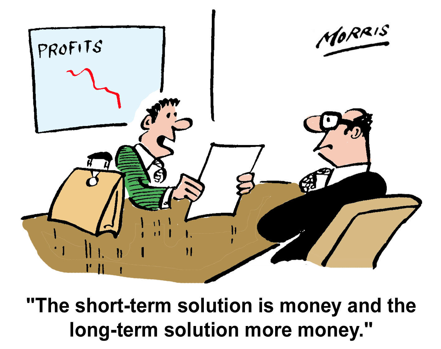 accountant accountancy profits business cartoons