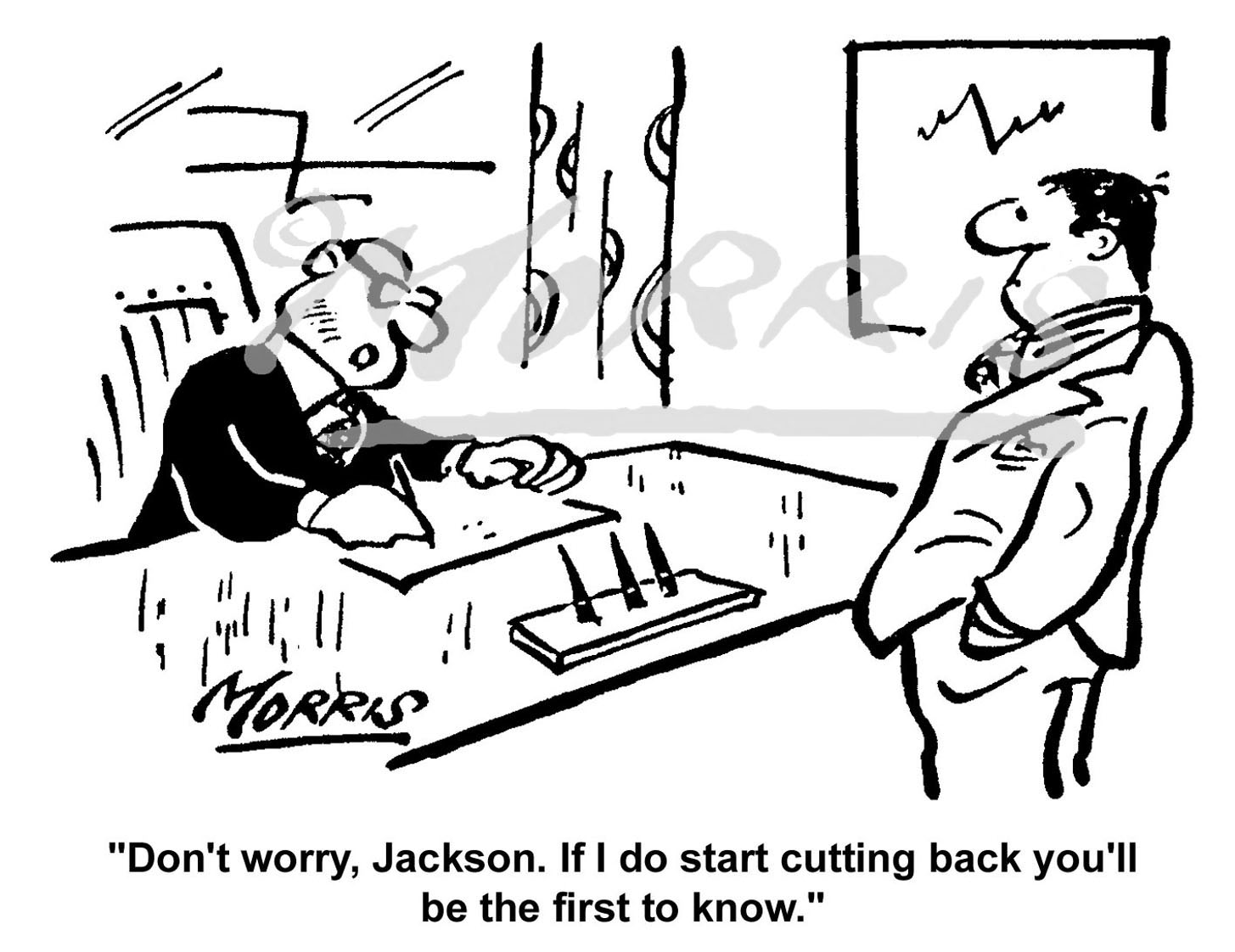 Management cartoon Ref: 0057bw