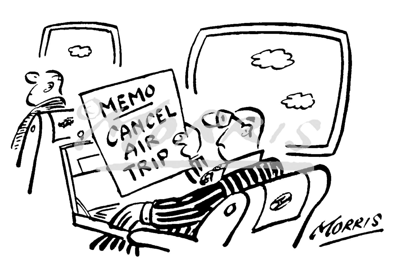 Manager cartoon – Ref: 0246bw