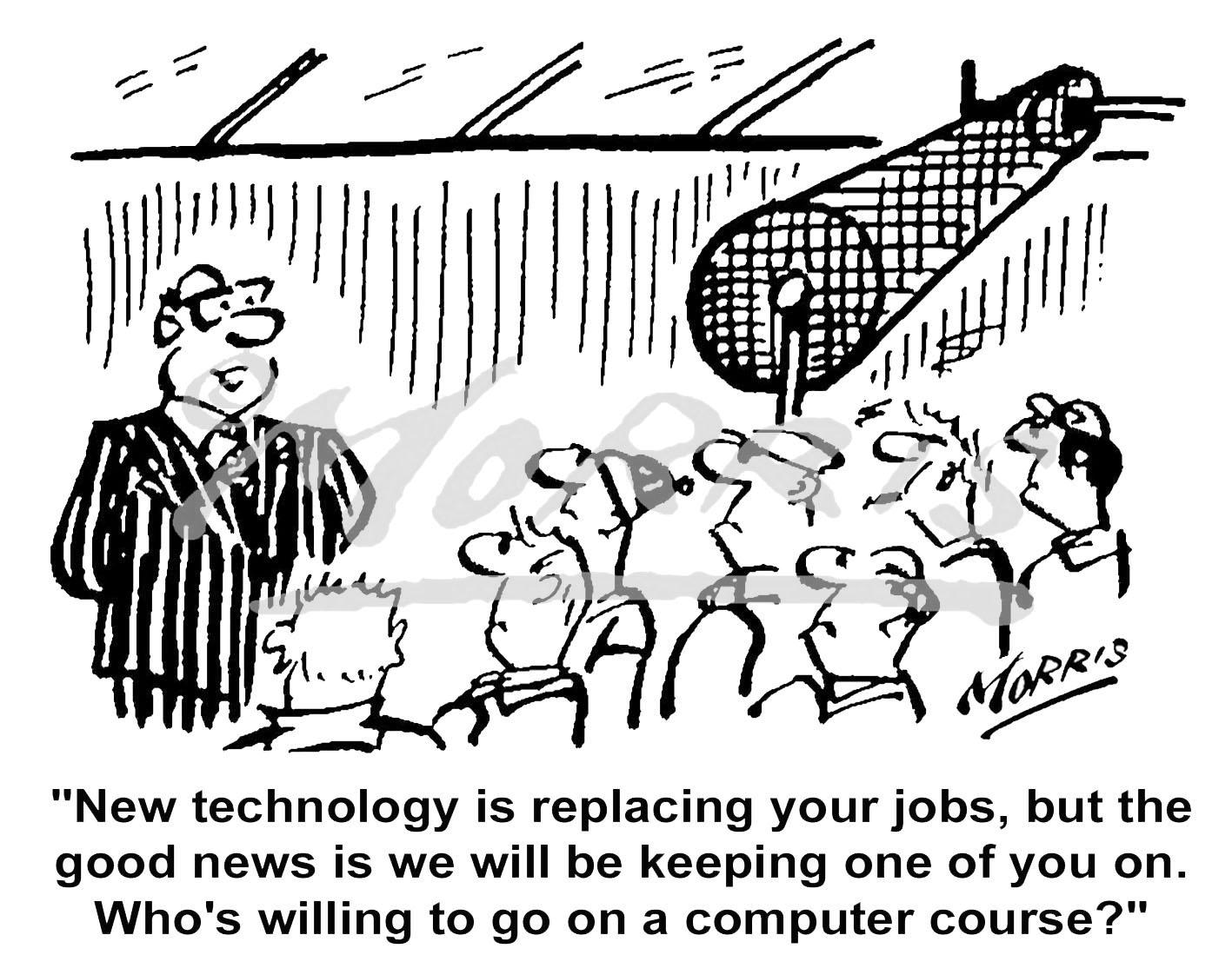 Workplace cartoon – Ref: 0371bw