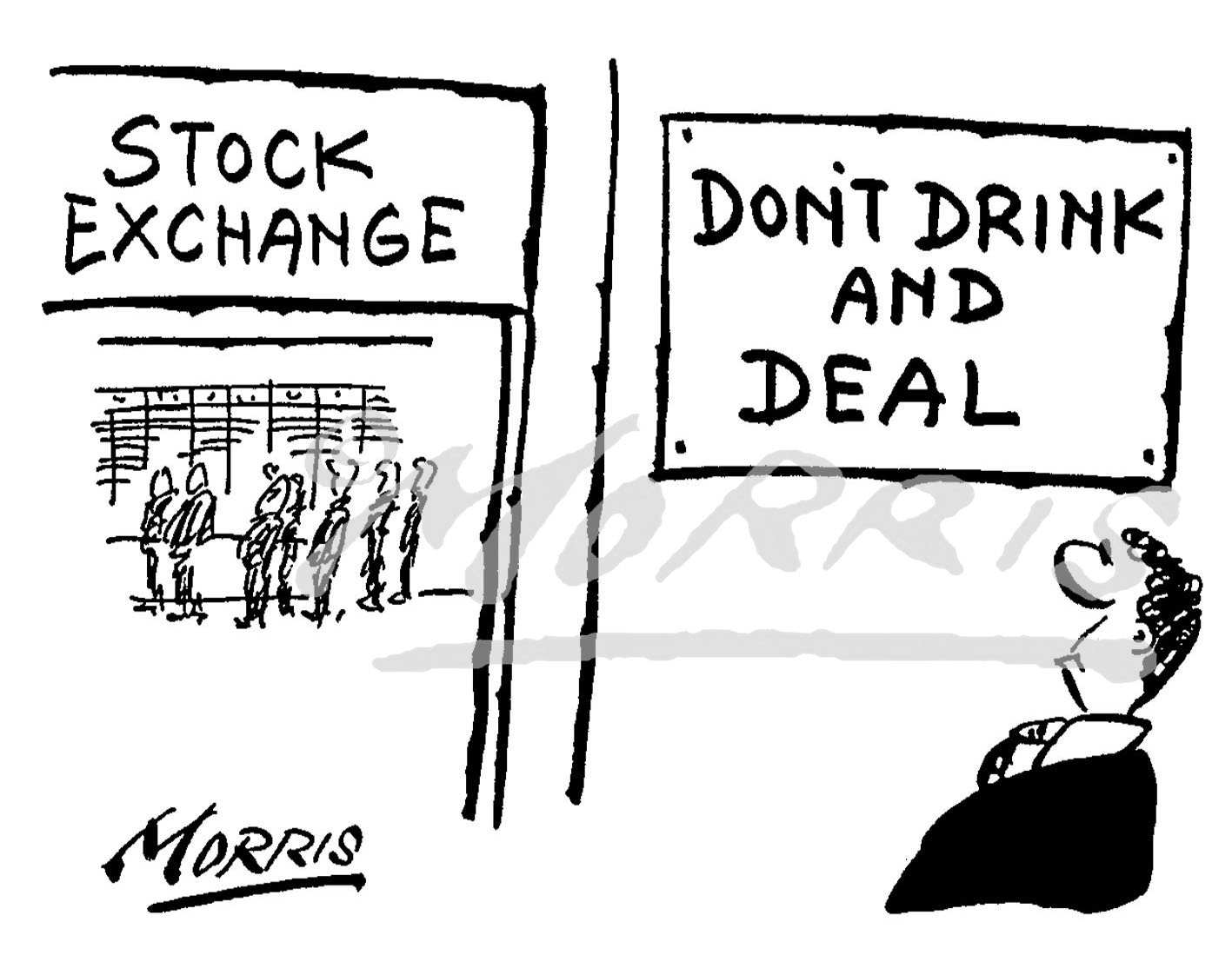 Stock Market business cartoon Ref: 0514bw