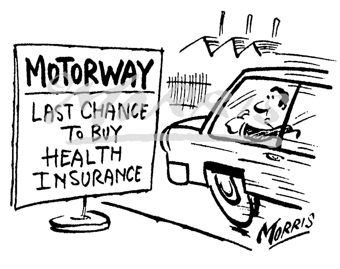 Health Insurance cartoon, Healthcare cartoon