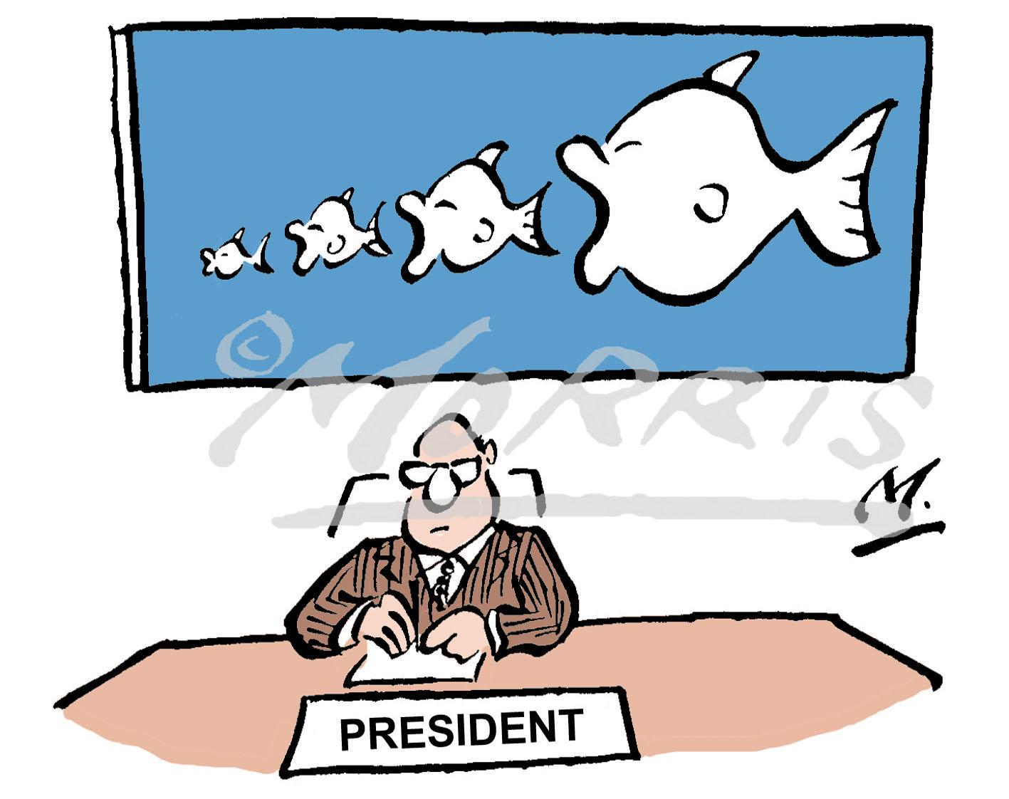 President takeover comic cartoon – Ref: 1474colus