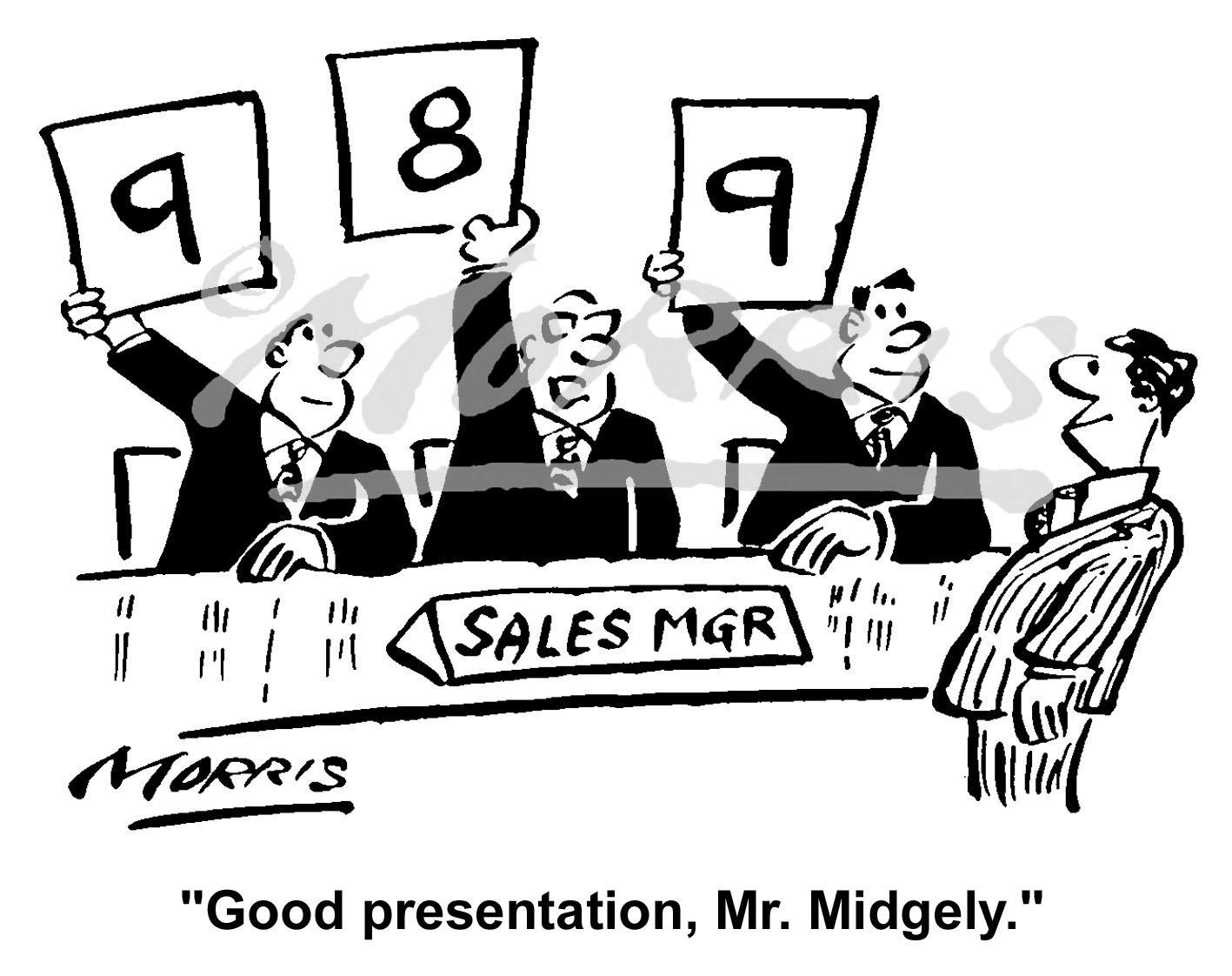 Sales recruitment cartoon Ref: 1560bw