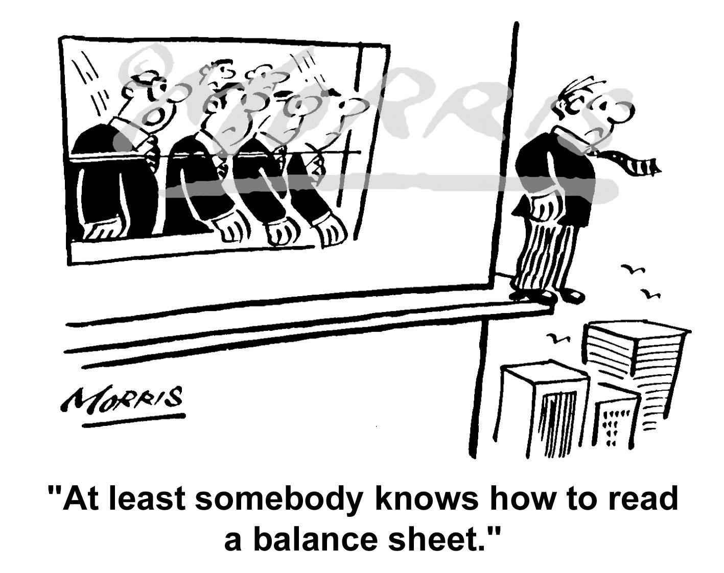 Office employee cartoon Ref: 1632bw