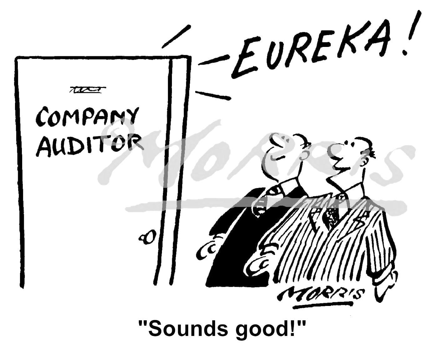 Accountancy cartoon – Ref: 2006bwus