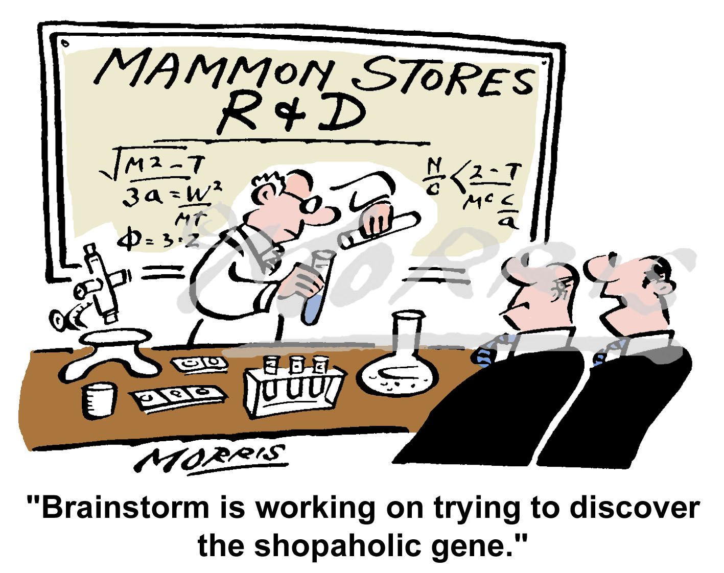 Research and Development cartoon – Ref: 2918col