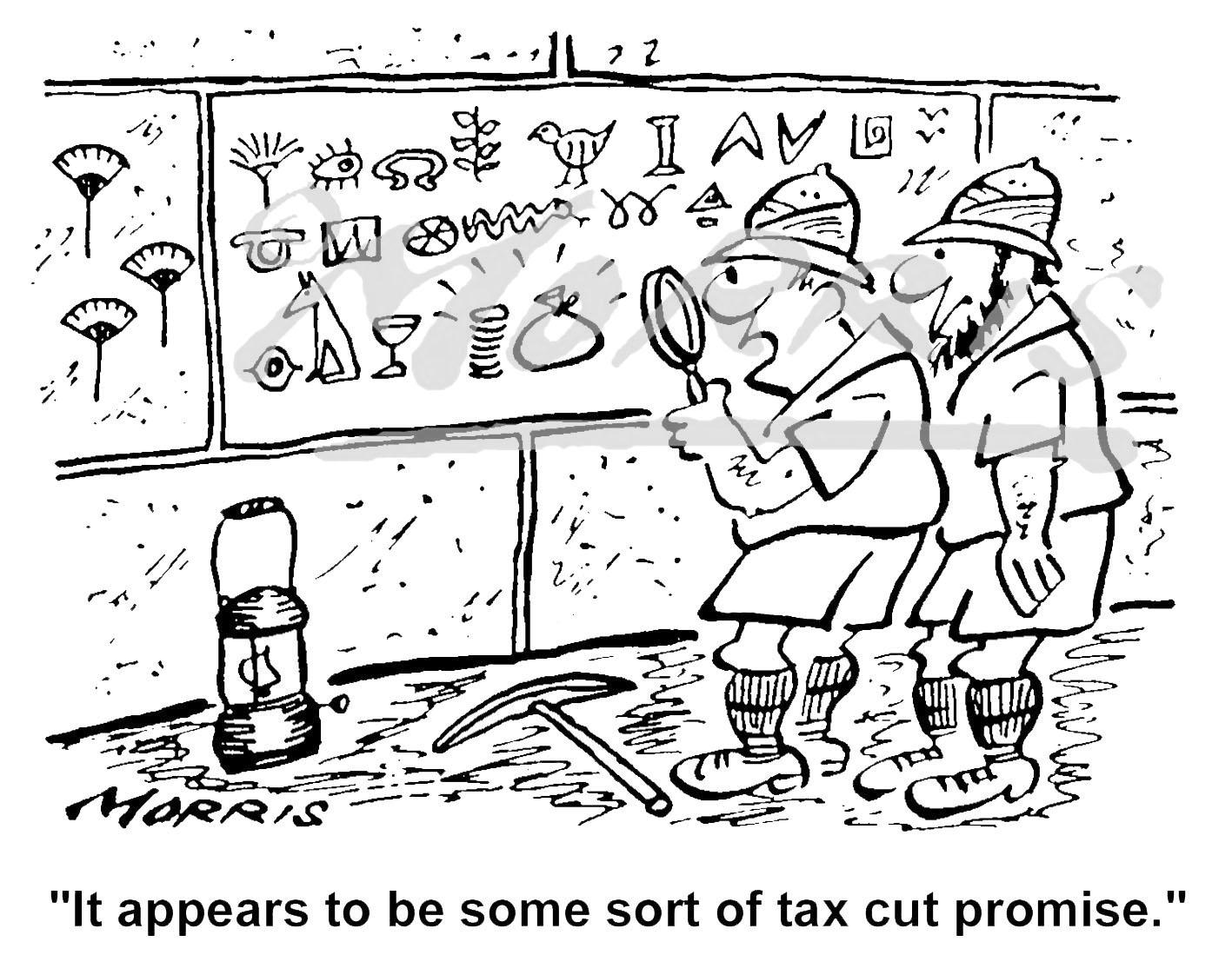 Accountancy cartoon, Auditor cartoon, Accountant cartoon, Tax cartoon – Ref: 3486bw