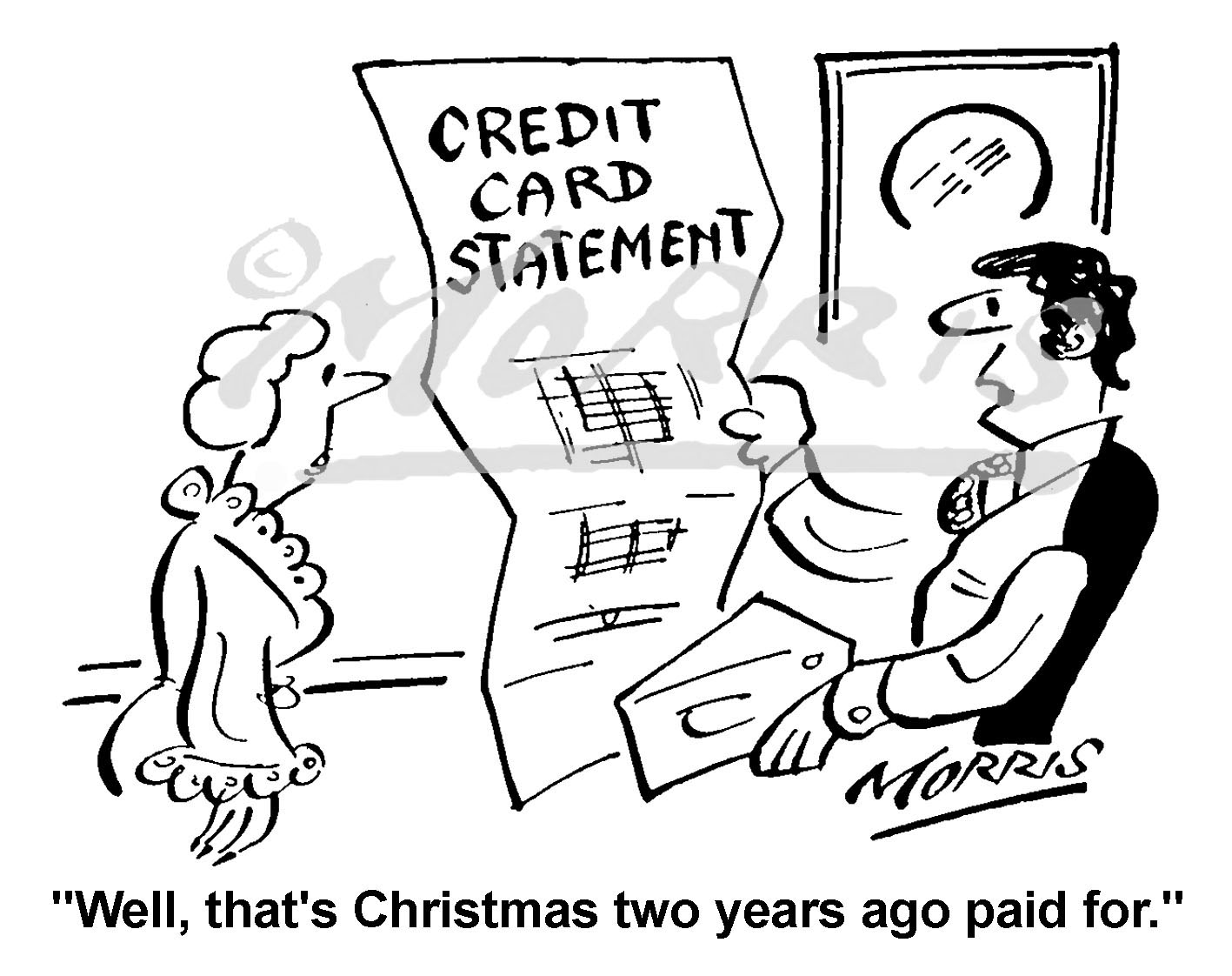 Accountant business cartoon – Ref: 4322bw