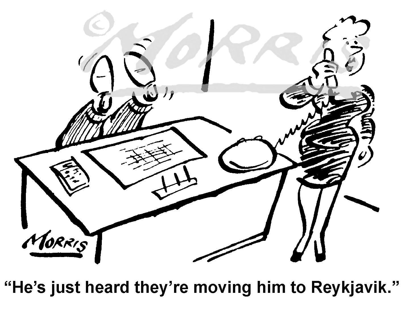 Accountant cartoon – Ref: 4337bw