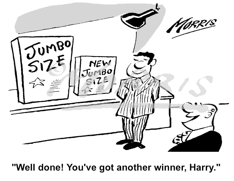 Marketing Manager Cartoon Marketing Cartoon Ref 5096bw Business Cartoons