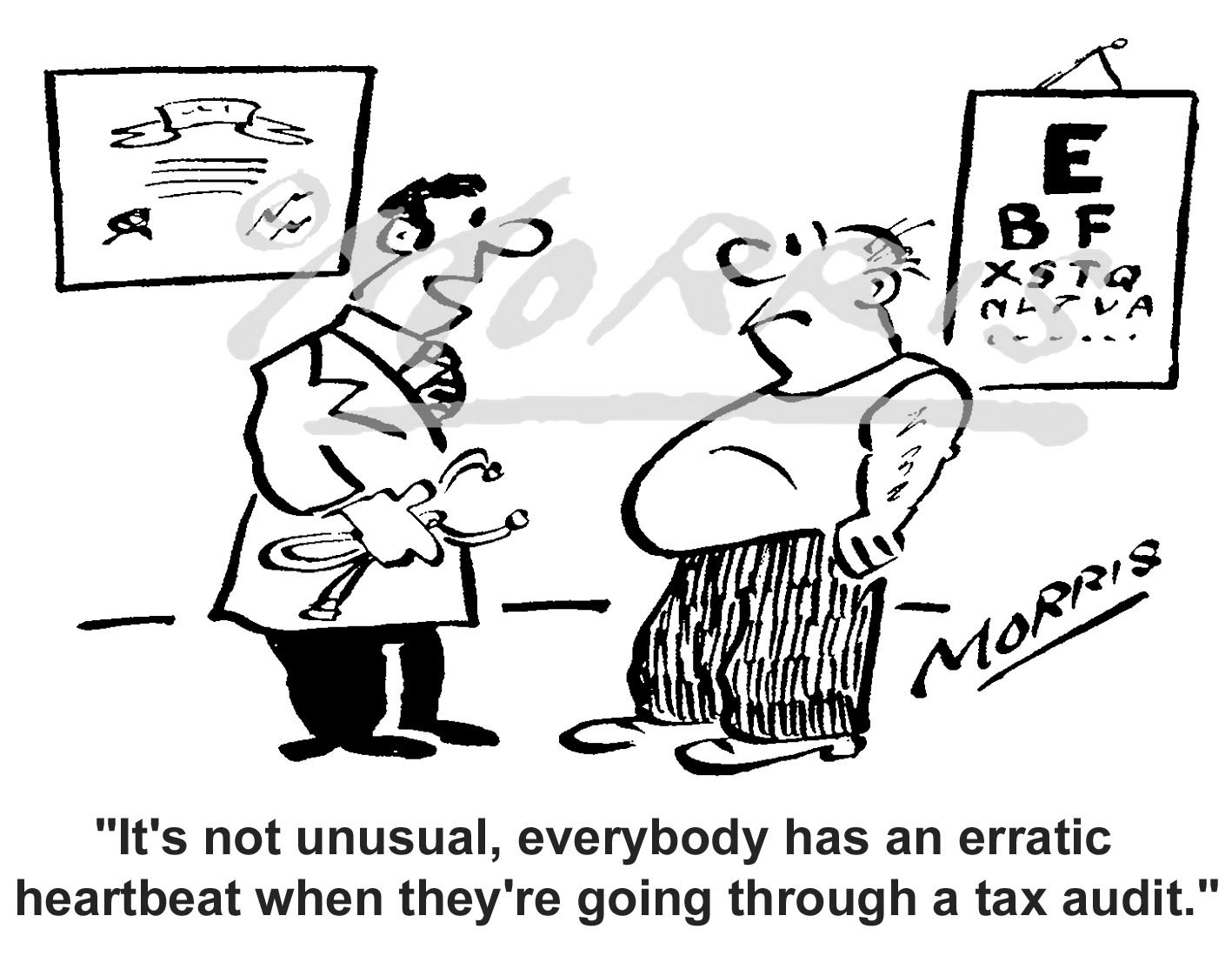 Healthcare cartoon – Ref: 5102bw