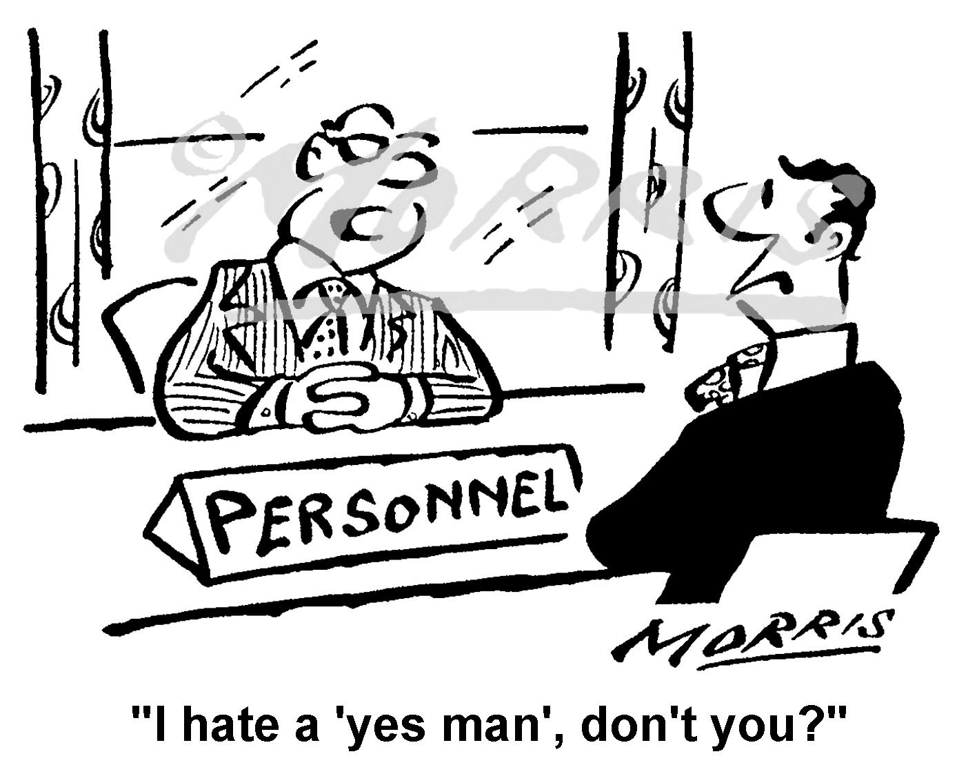HR business cartoon – Ref: 5199bw