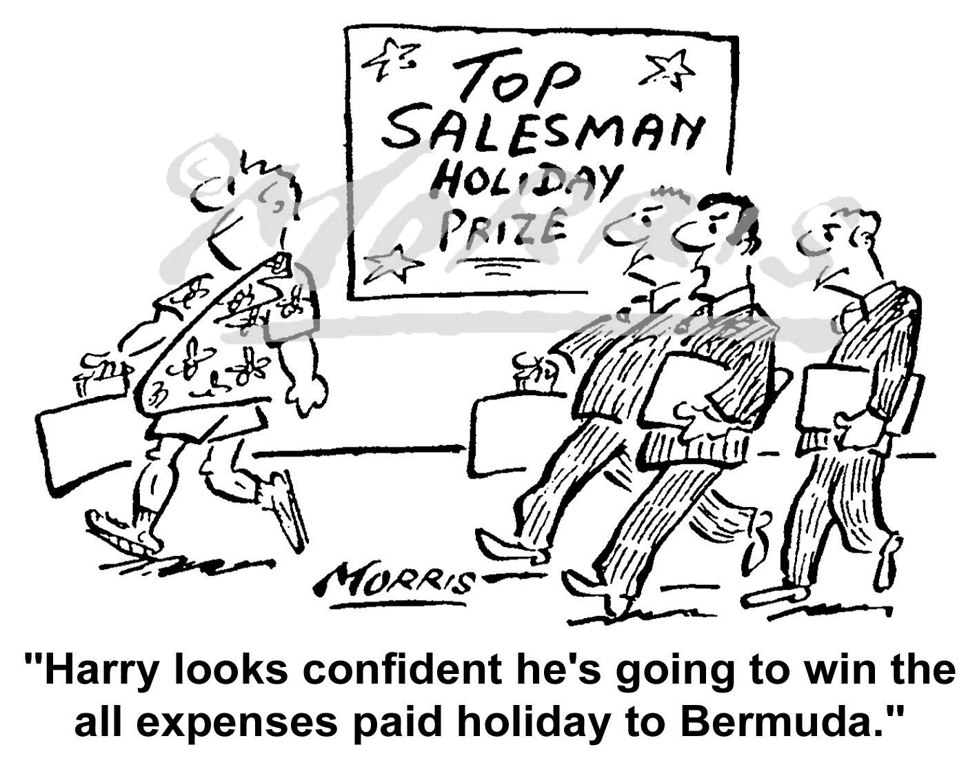 Top salesman holiday competition – Ref: 5347bw