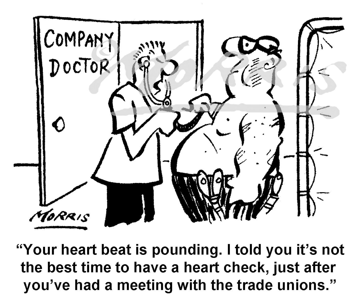 Company doctor heart check – Ref: 8018bw