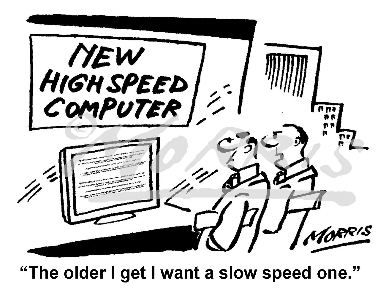 Slow speed computer – Ref: 8297bw